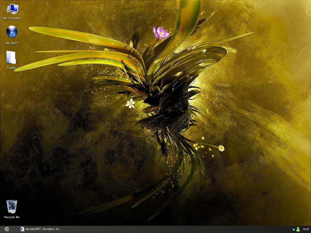 My Desktop by in4