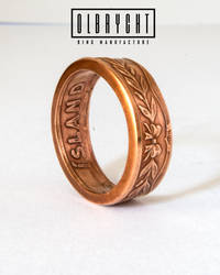 Island Bronze handmade ring by OlbrychtRings