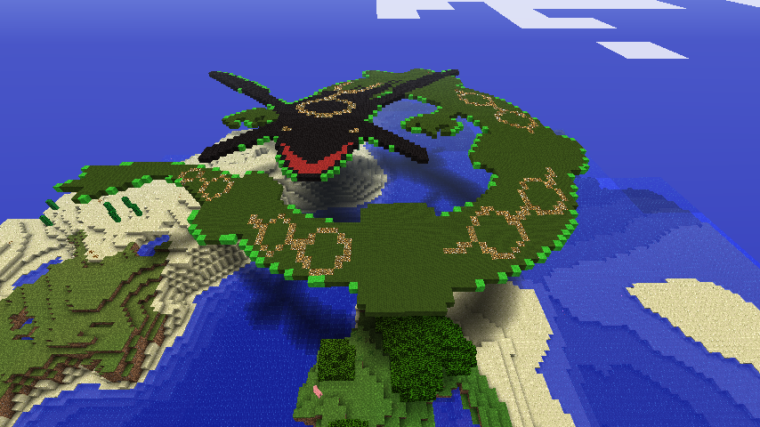 Day Rayquaza In Minecraaft By That1p3rson ...