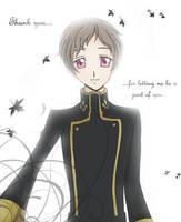 CG - Thank You... by mikiikun