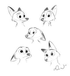 Some dump sketches of Nick