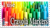 Crayola Markers .:Stamp:. by XenOGax