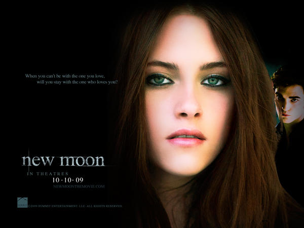 moon wallpaper. New Moon wallpaper by ~ryu001