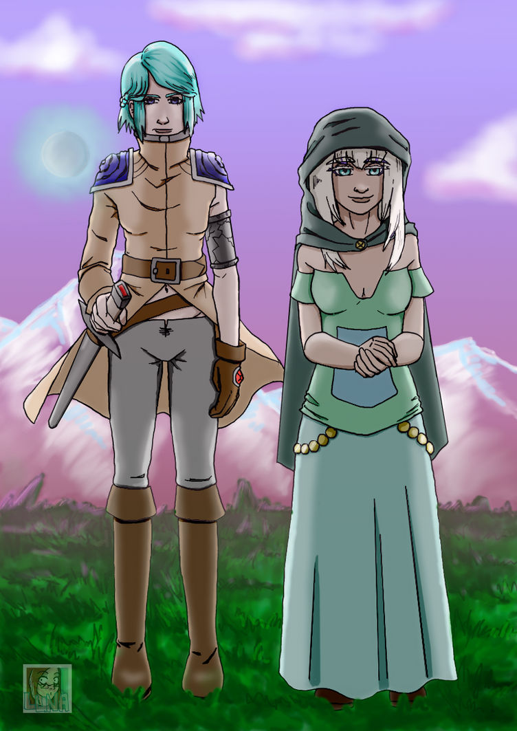 Priestess And Soldier by Rhapsody-of-Luna