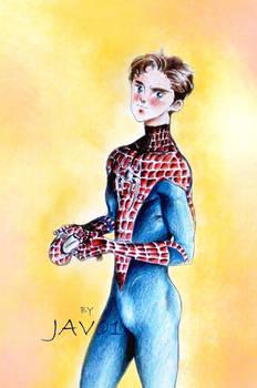 Spiderman - Peter Parker by zelldinchit