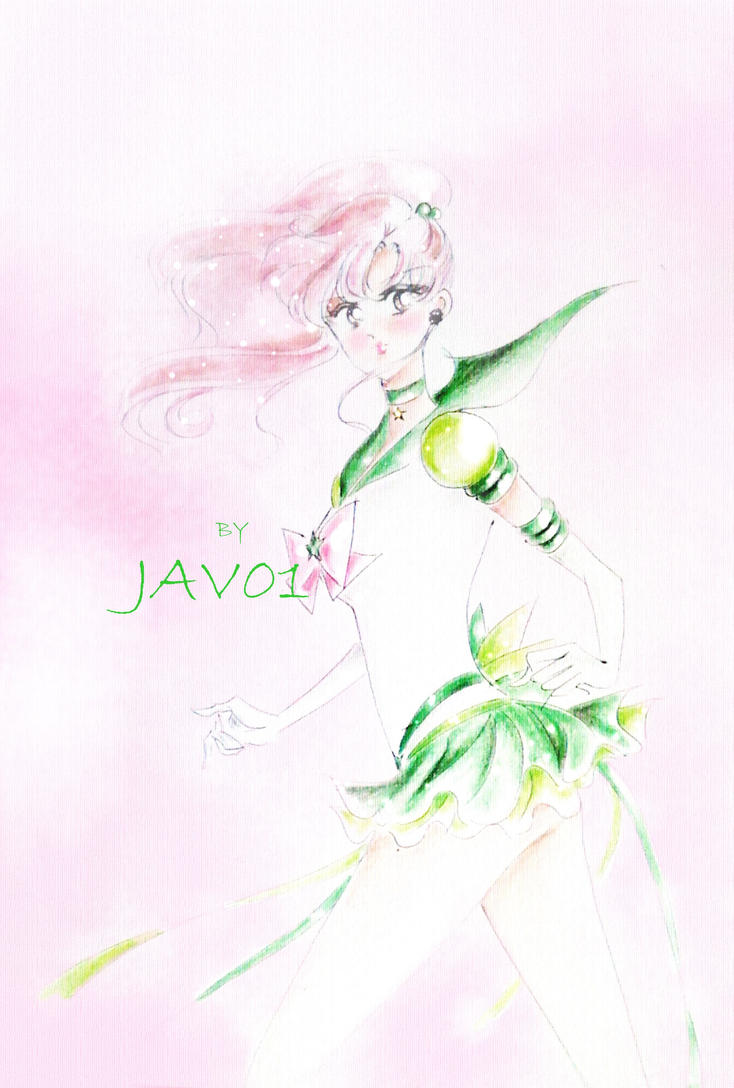 Makoto Kino  - Eternal Sailor Jupiter by zelldinchit