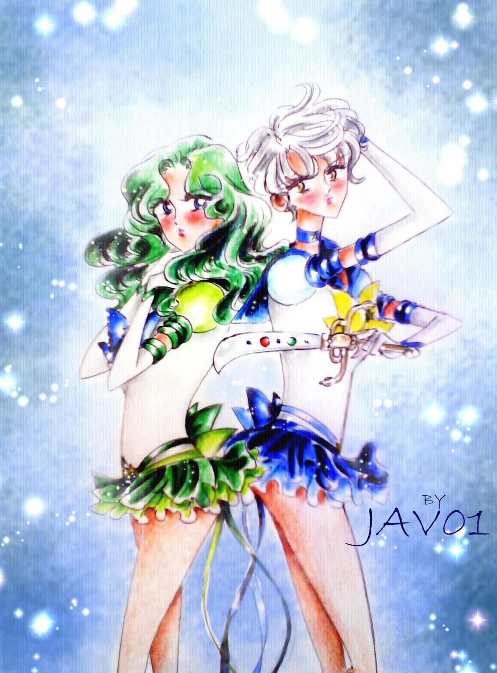 Eternal Sailor Neptune Manga eternal uranus and neptune