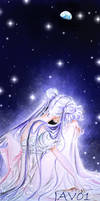 usagi tsukino - bunny in the moon by zelldinchit