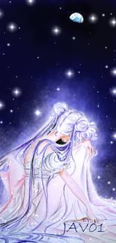 usagi tsukino - bunny in the moon