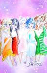Sailor Moon - inner senshis