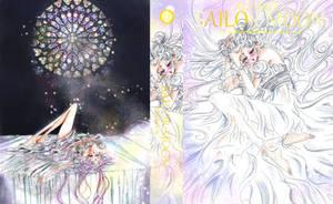 Sailor Moon - cover Artbook (fan edition ) by zelldinchit