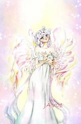 Sailor moon  - usagi princess moon by zelldinchit