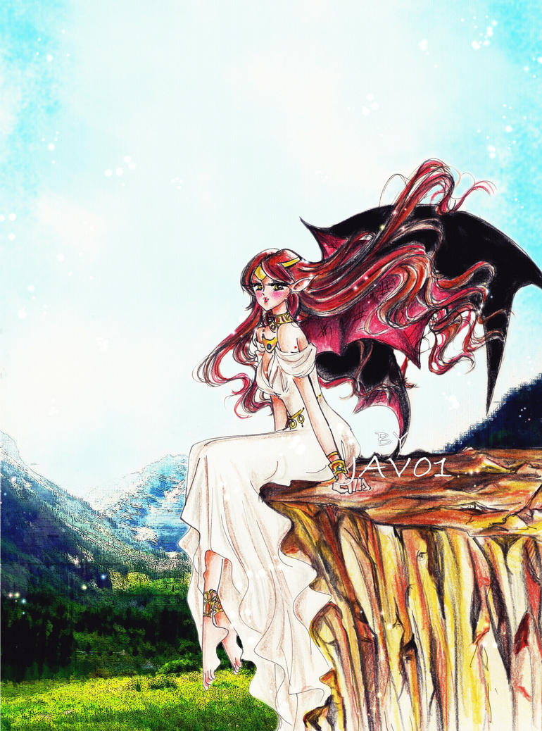 Commission LilituDracula -Lilitu by zelldinchit