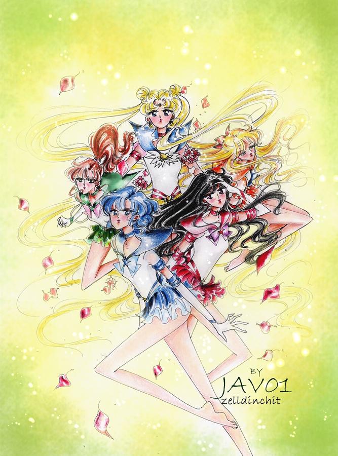 Sailor Moon - eternal senshi by zelldinchit