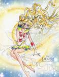 Super Sailor Moon - el enviado del bien