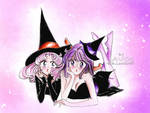 Chibiusa and hotaru - the witches ( halloween eve)