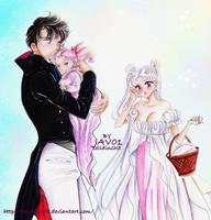 Sailor moon -royal family by zelldinchit