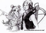 usagi and Mr. Dixon - Hunt or be hunted by zelldinchit