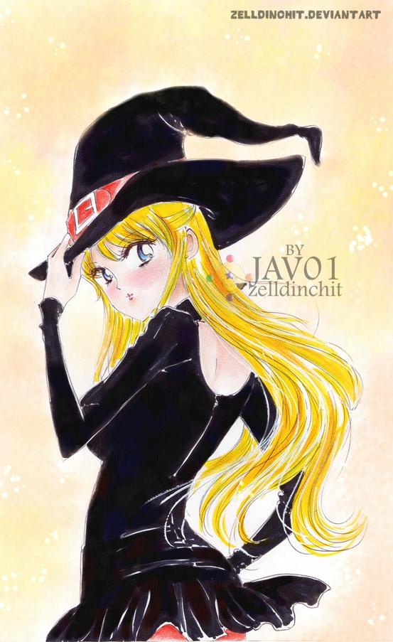 Minako Aino - special Halloween by zelldinchit