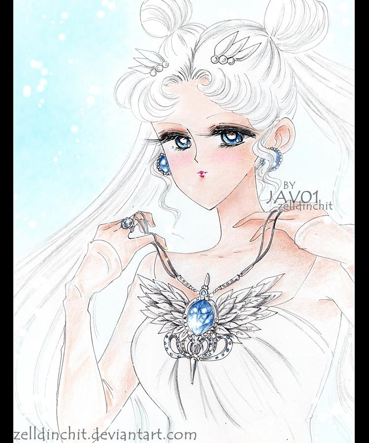 sailor moon  - Princess collar / Remake by zelldinchit
