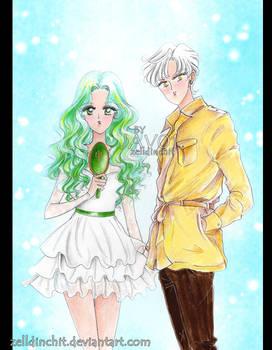Michiru and Haruka - Sailor Uranus and Neptune