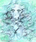 Sailor neptune - blue of sea