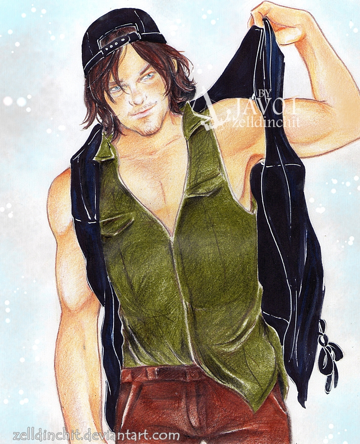 Daryl Dixon By Zelldinchit On Deviantart