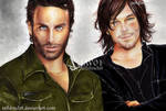 Rick Grimes  and Daryl Dixon  The Walking Dead