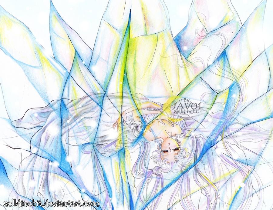 sailor moon (serenity) crystal dreams by zelldinchit