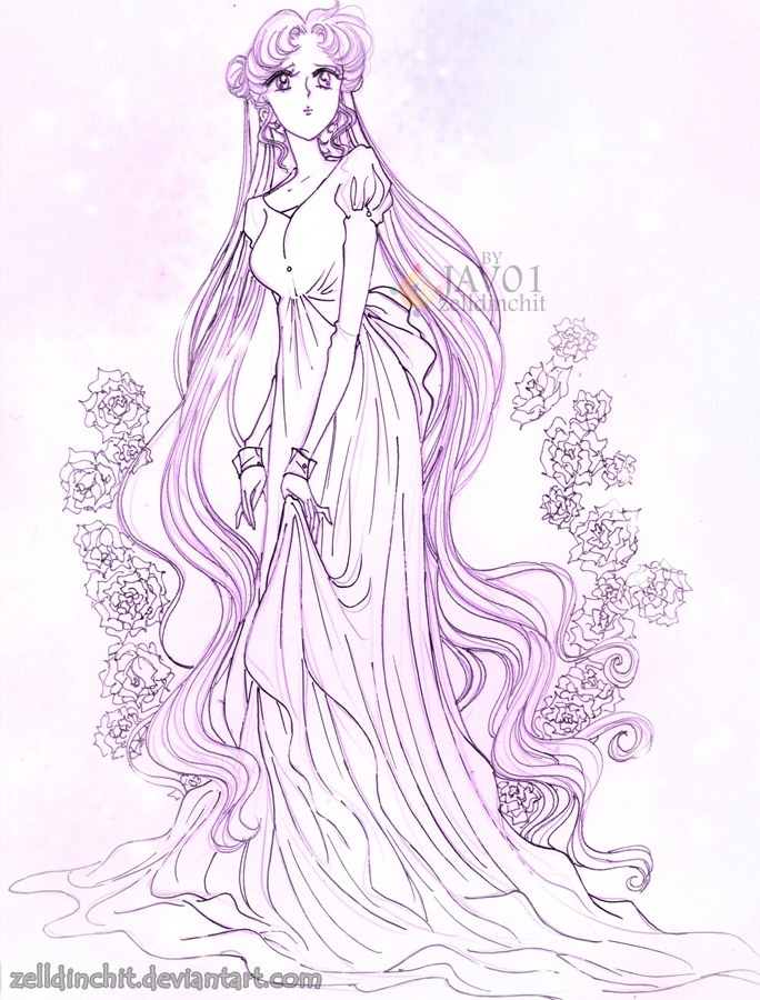 usagi - serenity by zelldinchit