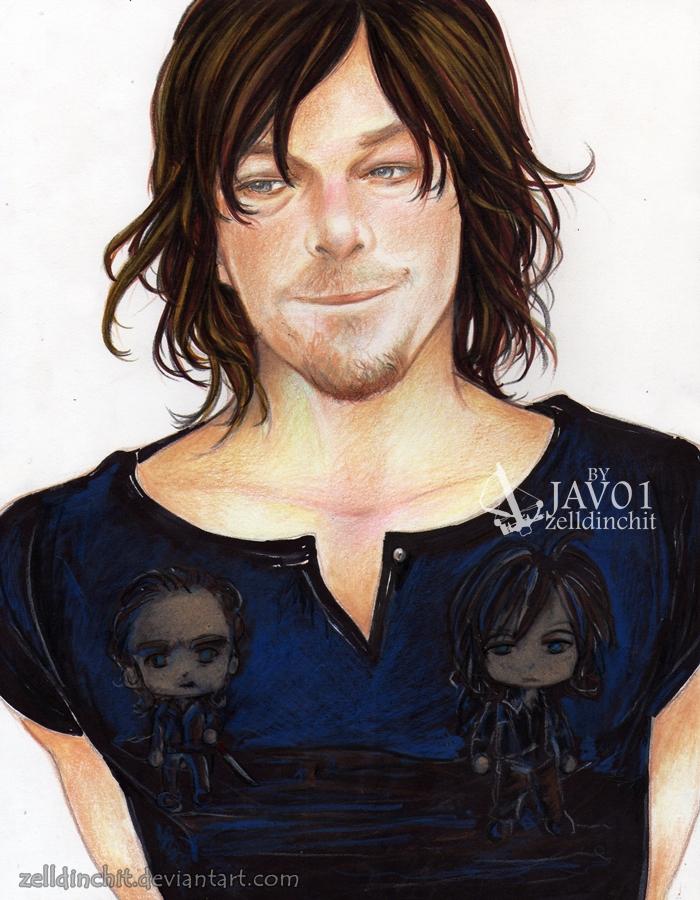 Norman -shirt Rickyl TWD by zelldinchit