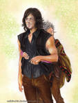 Daryl and Carol TWD - Caryl by zelldinchit
