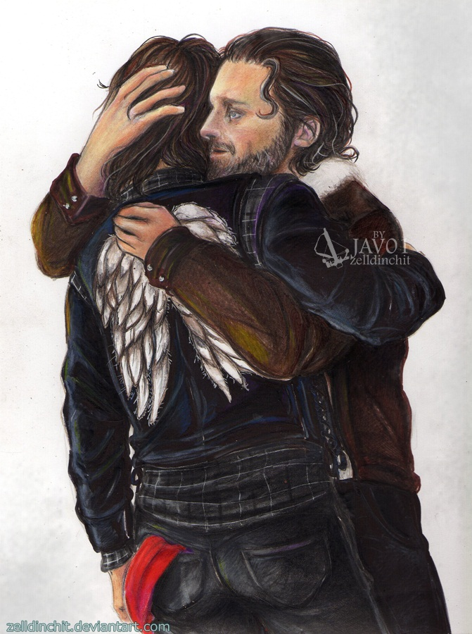 Rick and Daryl ( Rickyl ) - you are my brother by zelldinchit