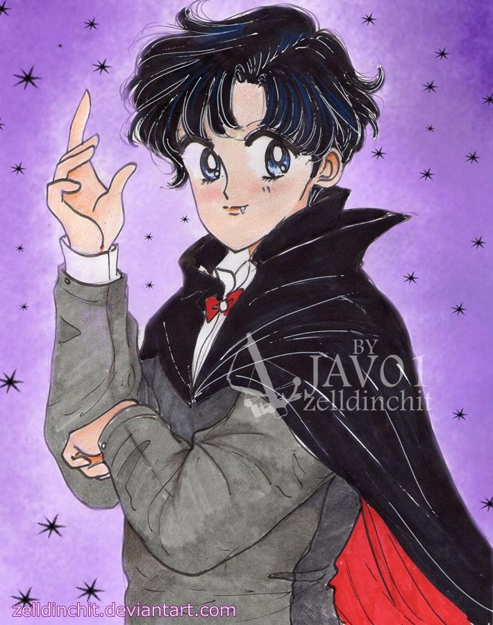 Mamoru - Vampire special halloween by zelldinchit