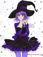 Hotaru - special Halloween by zelldinchit