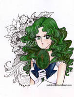 sailor neptune by zelldinchit