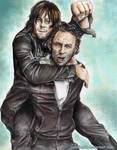 Daryl and Rick -Rickyl  TWD S6