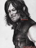 Norman - Daryl Dixon by zelldinchit