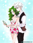 Haruka and Michiru  - sailor moon S