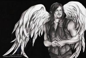 Daryl Dixon  - The Walking Dead - S6 by zelldinchit