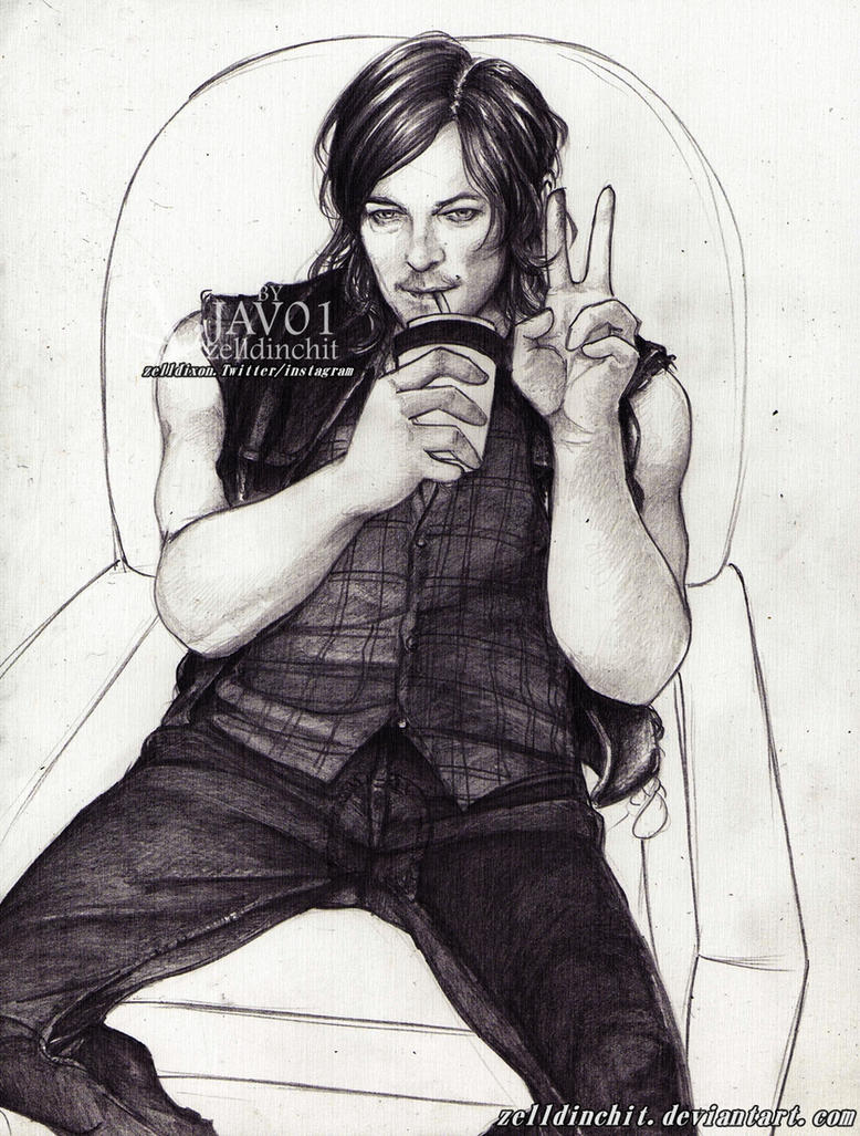 Daryl - wait for back to set by zelldinchit