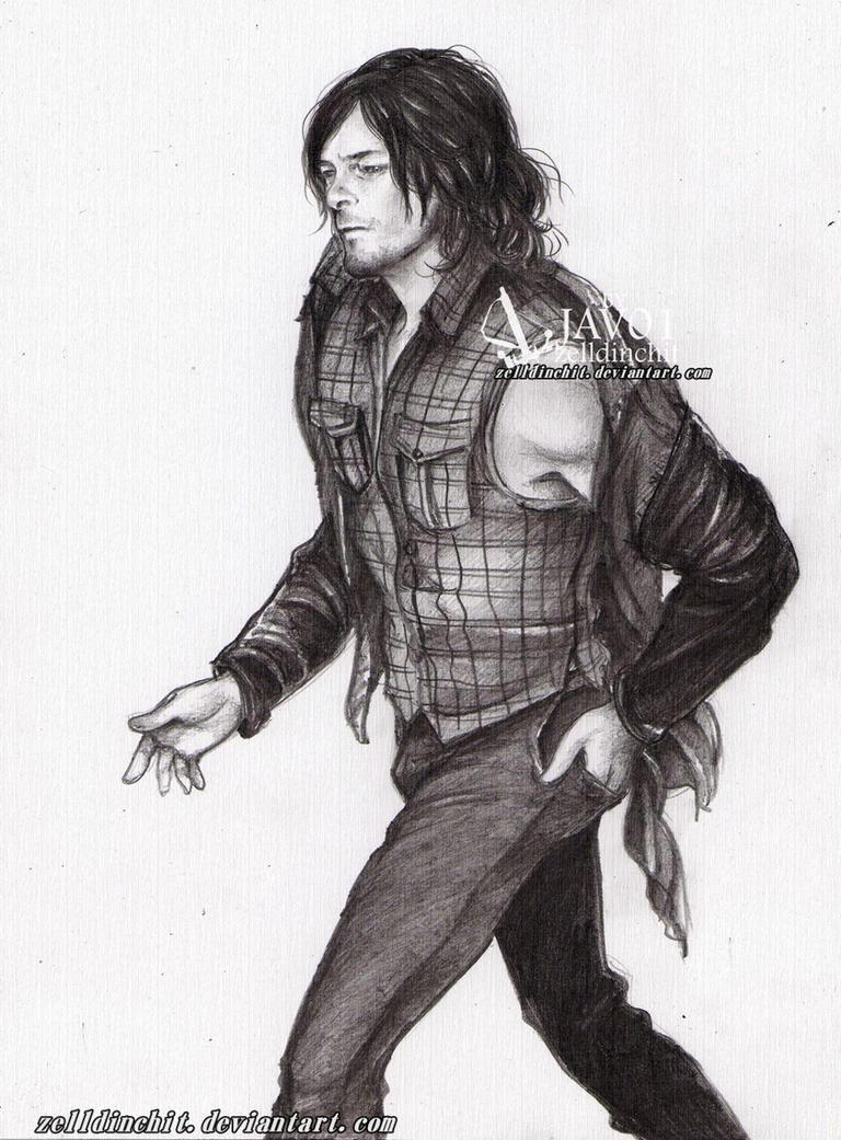Daryl -TWD by zelldinchit