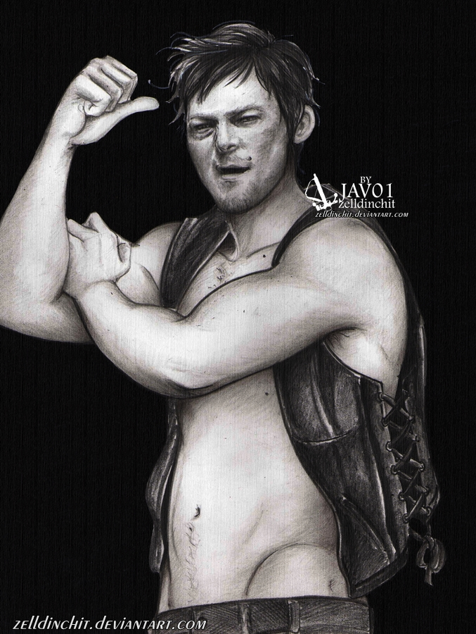 Daryl Dixon  - I can do it by zelldinchit