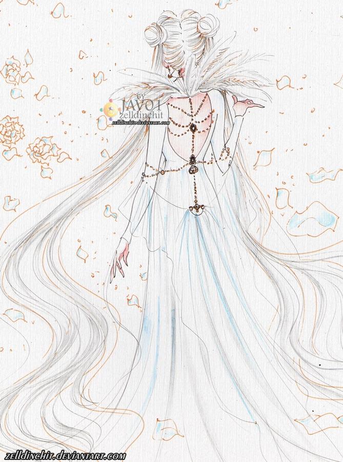 Usagi - Princess Cosmos by zelldinchit