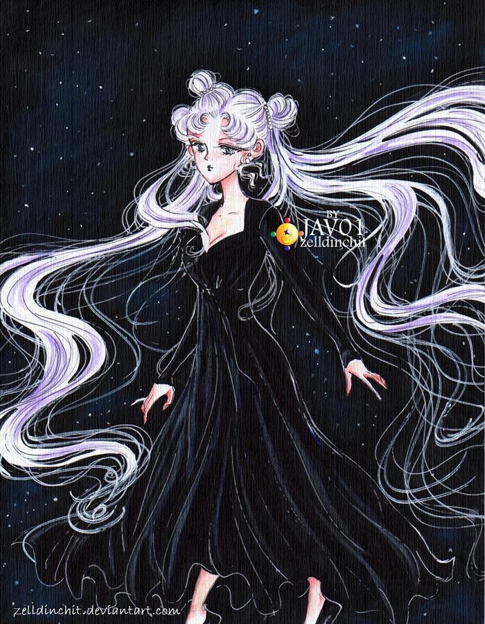 Usagi Tsukino -  la luna by zelldinchit