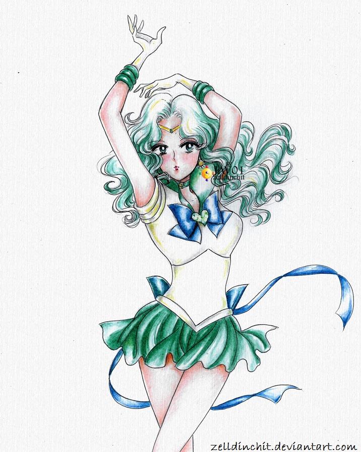 Michiru Kaioh - sailor neptune by zelldinchit