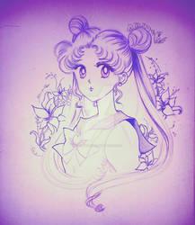 usagi - moon
