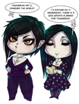 Chibime And Ryltha