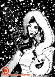 Winter Mal by Jornorinn