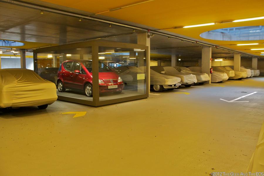 Mercedes benz museum parking garage by thegeekandtheeos on for Garage mercedes paris 13